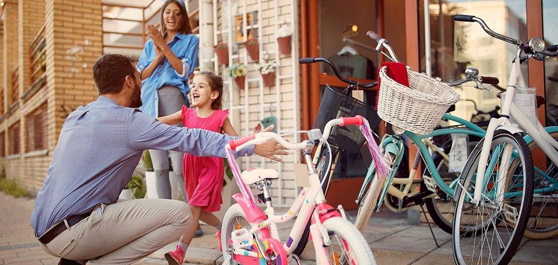 Na kaj morate paziti, ko kupujete otroško kolo?