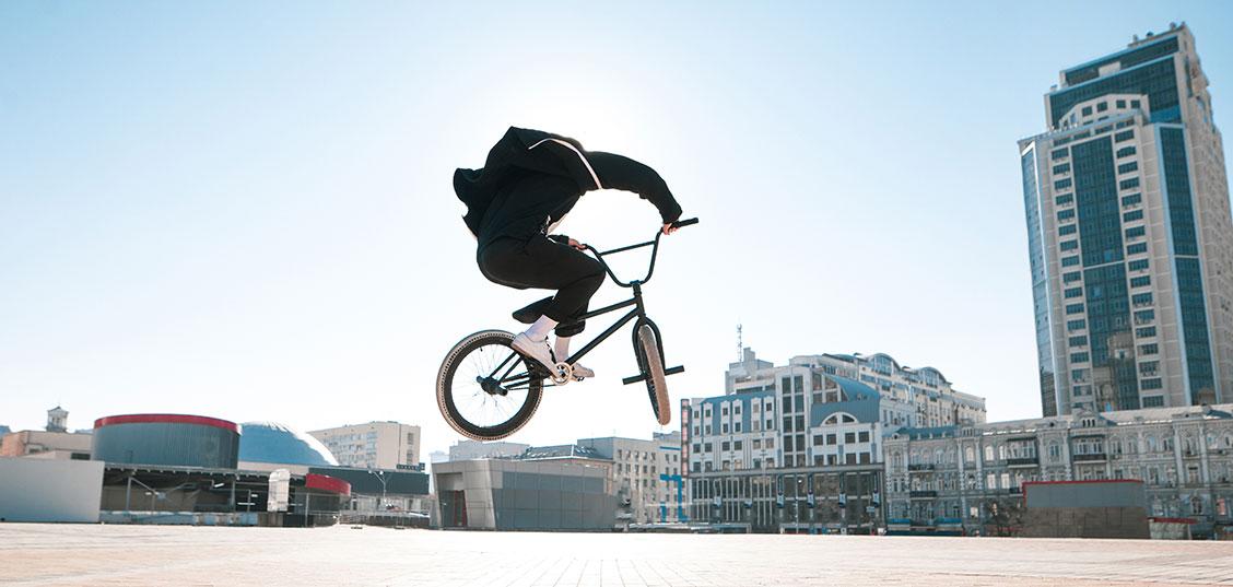 5 koles za izvajanje uličnih trikov