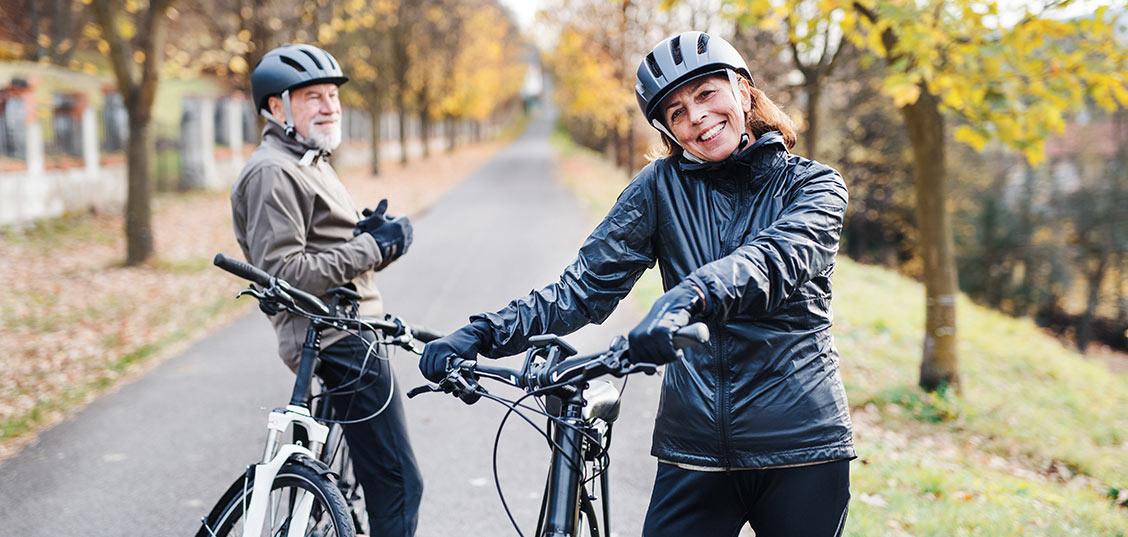 Kolesarjenje kot odlična vadba za starejše