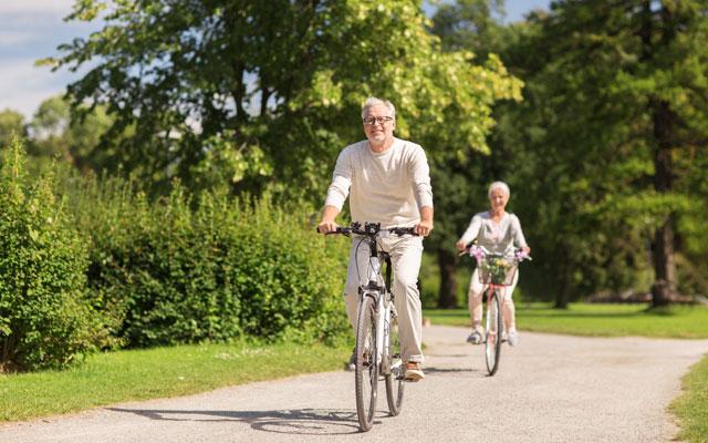 Kolesarjenje in starejši