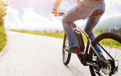 Električno kolo - vožnja po cesti