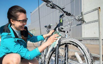 Čiščenje kolesa