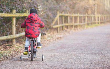 Otroško kolo in pomožna kolesa