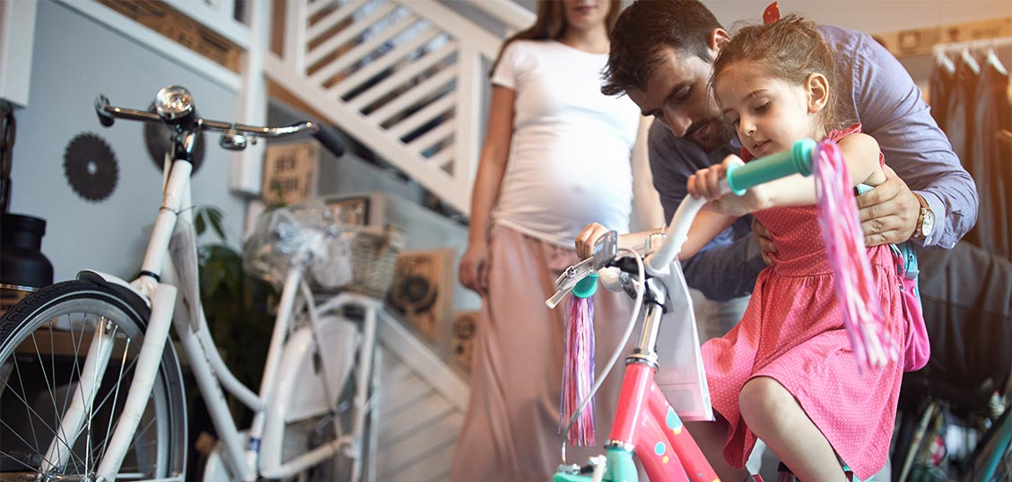 Kako izbrati pravo otroško kolo?