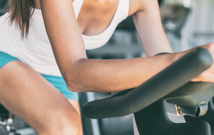 Ohranjanje kondicije s sobnim kolesom