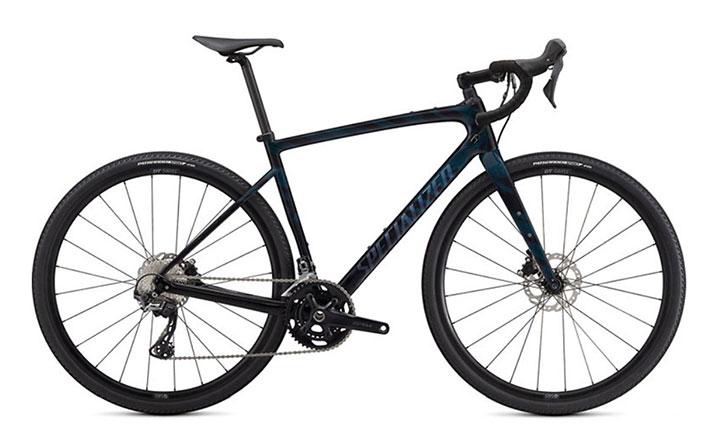 Gravel kolo Specialized Diverge Sport Carbon - črn