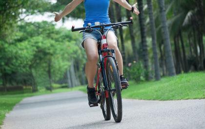 Vožnja kolesa brez rok