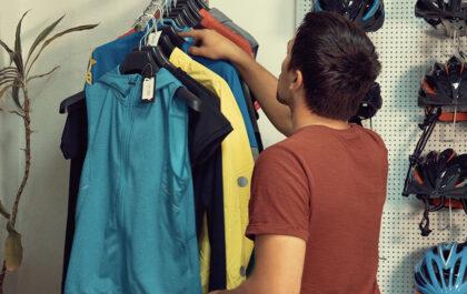 Nakup kolesarskih oblačil